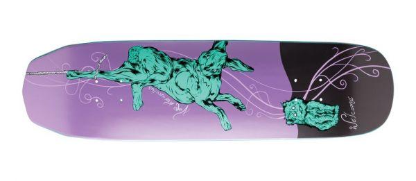 Welcome Fairy Tale Wicked Queen Metallic Skateboard Deck 8.6