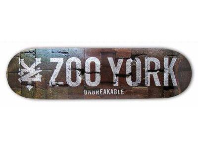 Zoo York Team Grimey Skateboard Deck 7.625