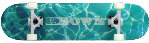 Krown Complete Skateboard Pro Aquatic 8.0