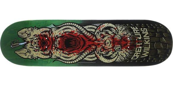 Creature Skateboard Deck Wilkins Totem Powerply 8.8