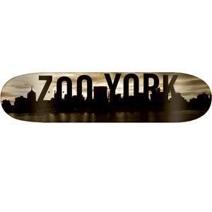 Zoo York Reflection Skateboard Deck 7.50