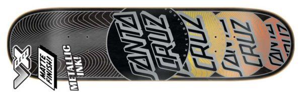 Santa Cruz Transcend VX Skateboard Deck 8.00