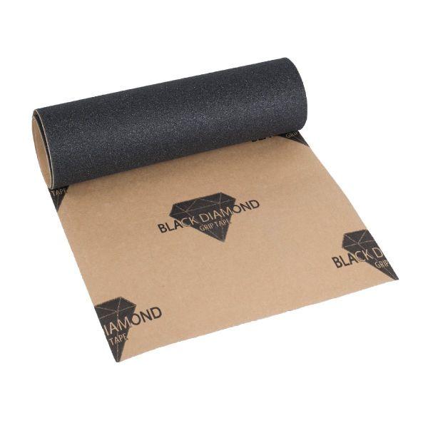 "Black Diamond Skateboard Griptape black 9"""