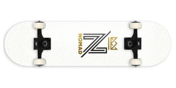 Nomad Og Logo White Komplettboard - 7.875