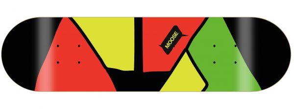Moose Skateboard Deck 80s Jacket