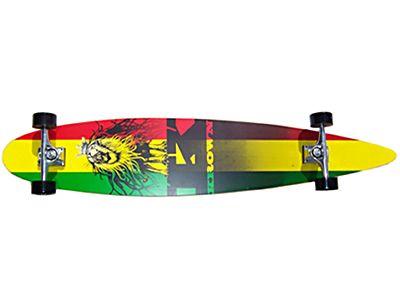 Krown - Rasta City Surf Longboard Complete 46x9
