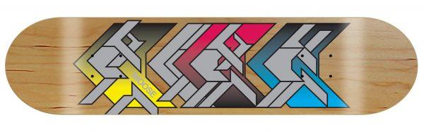 Moose Skateboard Deck Advance