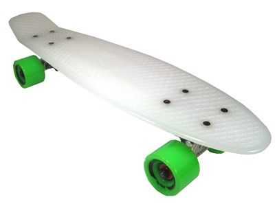 Paradise Plastic Cruiser Clear / Green