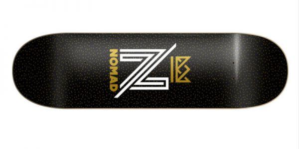 NOMAD OG Logo black Deck - 8.0