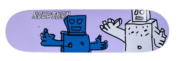 Robotron BuddiesSkateboard Deck 8.2