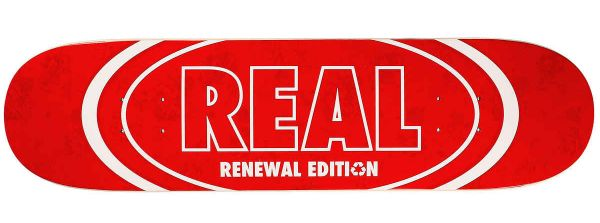 Real Team Floral Renewal #2 Skateboard Deck 8.06