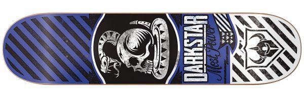 Darkstar Team Power Blue Skateboard Deck 8.38