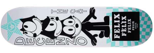 Darkstar Decenzo Felix Vortex R7 Skateboard Deck 8.375