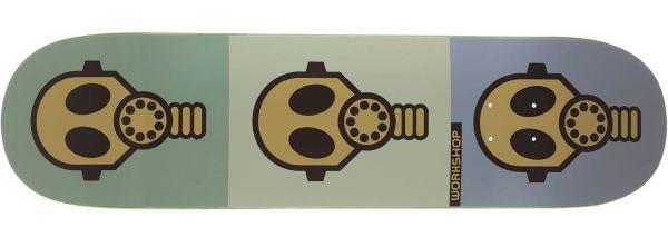 Alien Workshop Gas Mask Skateboard Deck 8.5