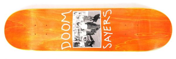 Doomsayers The Approach Skateboard Deck 8.28