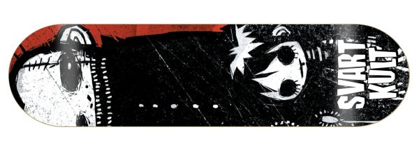Svart Kult Diujicho Skateboard Deck
