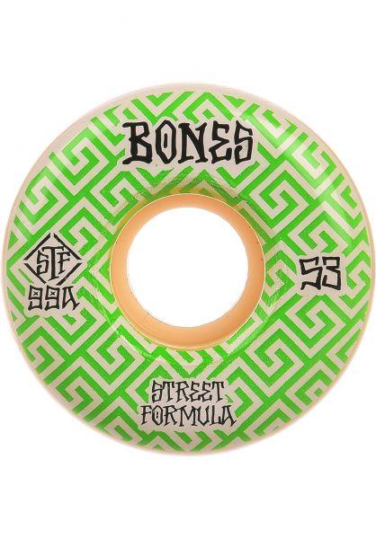 Bones Wheels Skateboard Rollen STF Patterns Locks 99A V2 52mm