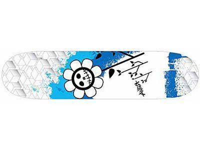 Angst Insomniaks Le petit bleu Skateboard Deck 7.63