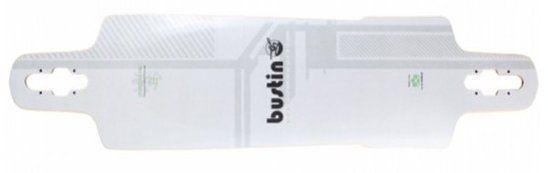 Bustin Sportster Fiber Longboard Deck White 39.25 x 10