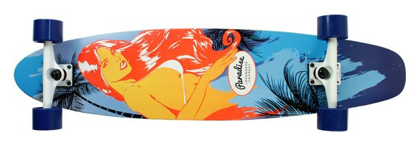 Paradise Complete Longboard Kicktail Kalei 40.0 x 9.0