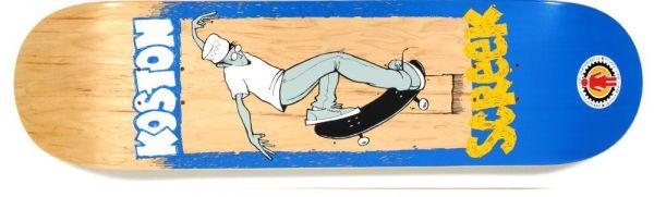 Girl Koston Lettus Bee Skateboard Deck 8.25