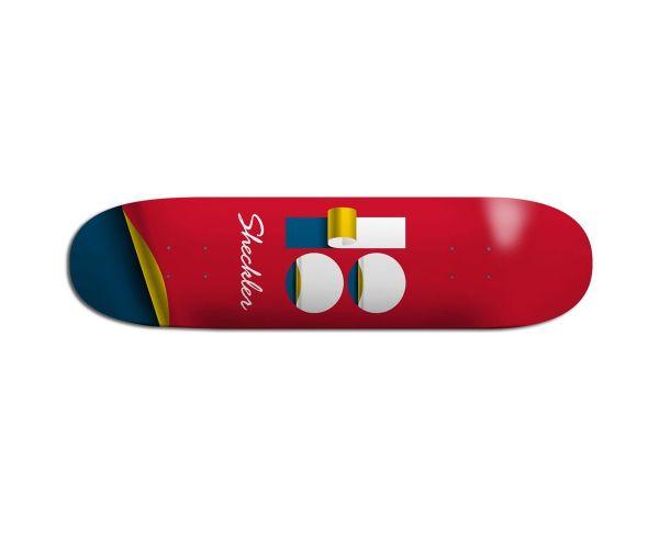 Plan B Sheckler Wrap Skateboard Deck 8.2