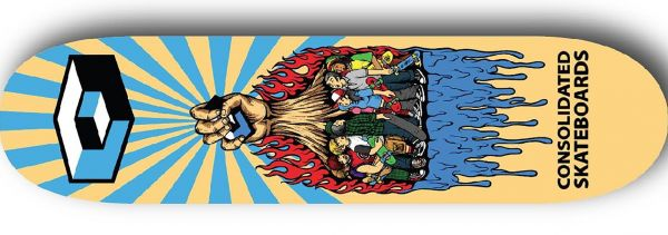 Consolidated Rise Up Skateboard Deck 8.75