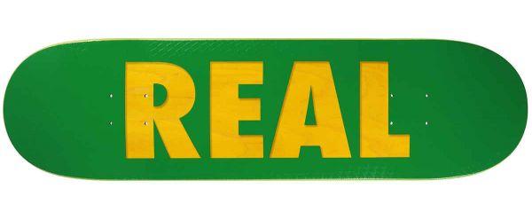 Real Team Bold Skateboard Deck 8.38