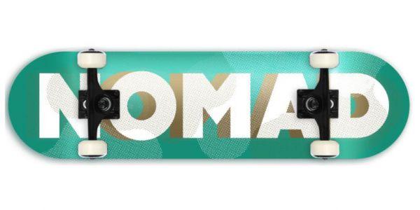 Nomad Resilio Logo Green Komplettboard - 8.0