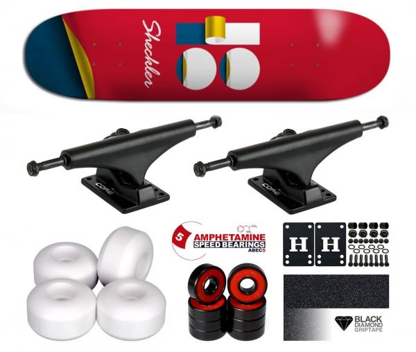 Plan B Sheckler Wrap Komplett Skateboard 8.25
