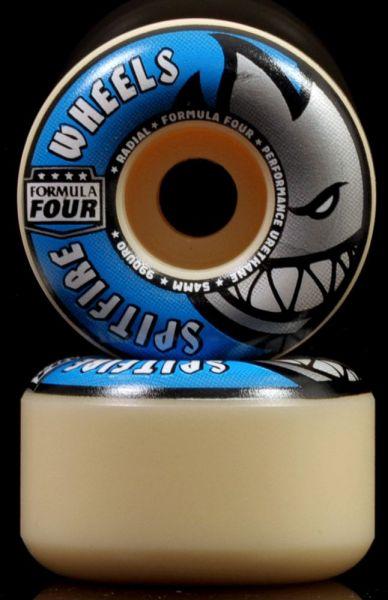 Spitfire Skateboard Wheels F4 Radials 99A 54mm