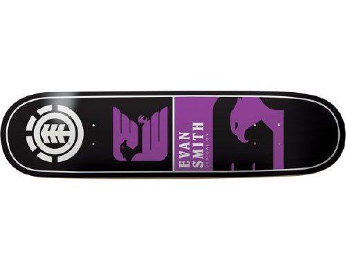 Element Smith Chromatics Skateboard Deck 7.63