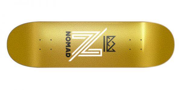NOMAD OG Logo gold Deck - 8.13