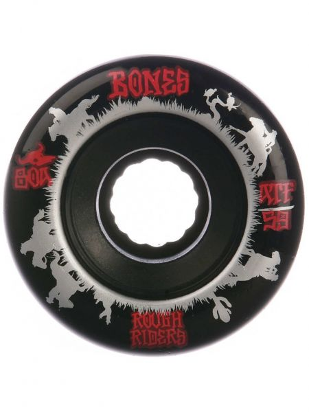 Bones Wheels ATF Rough Riders Wrangler Black 80a 59mm
