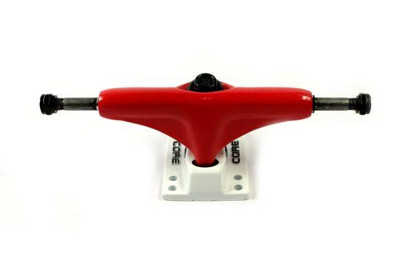 Core Trucks Skateboard Achse rot/weiss 5.0