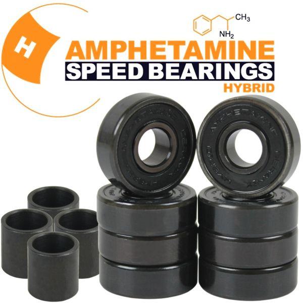 Amphetamine Bearings Skateboard Kugellager Hybrid