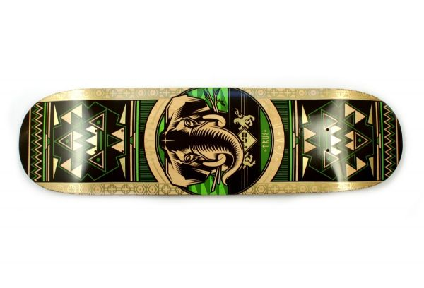 FUA Elephant green Skateboard Deck