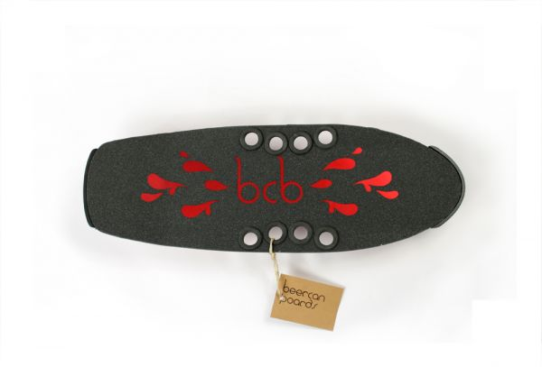 Beercan Cruiser Microbrewster Deck red 24