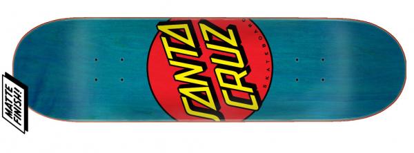 Santa Cruz Classic Dot Skateboard Deck 8.50