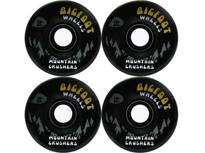 Bigfoot Mountain Cruiser Longboard Wheels Black 76mm 80a
