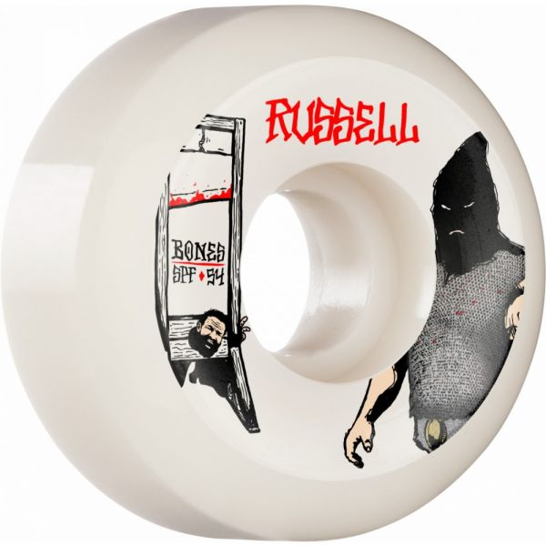 Bones Wheels Skateboard Rollen SPF Russell Executioner 84B V5 56mm