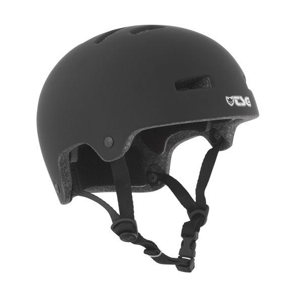 TSG Helm Nipper Maxi Kids, satin black