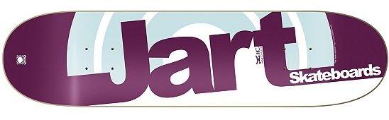 Jart Logo Duo III Skateboard Deck 7.5
