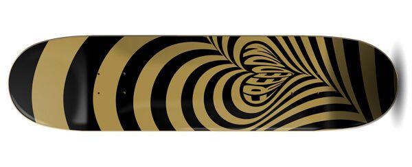 Freedom Hypnolove Gold Skateboard Deck