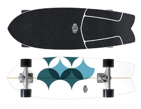 "Carver X Triton Surfskate Astral CX 29"""