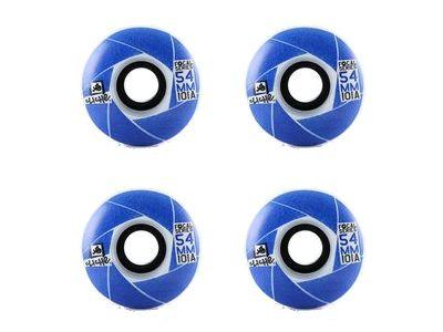 Cliche Skateboard Rollen Focal Blue 101A 54mm