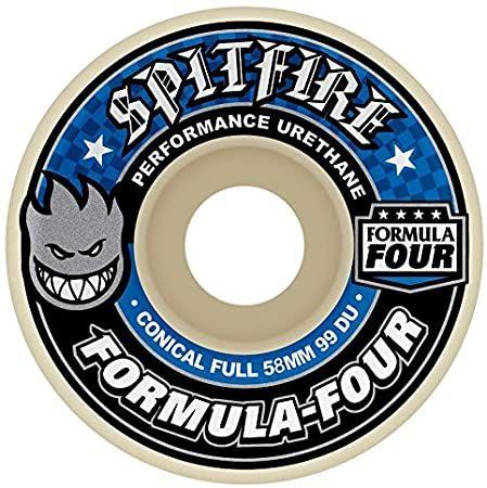 Spitfire Skateboard Rollen F4 Conical Full 99A 56mm