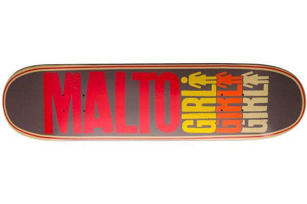 Girl Malto Triple OG Skateboard Deck 8.125