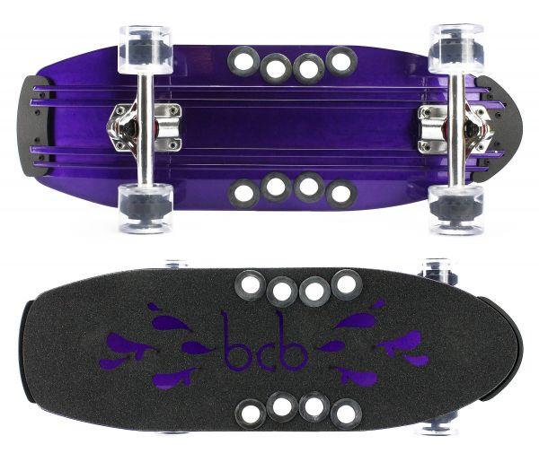 Beercan Microbrewster purple Komplett Cruiser 24 x 8