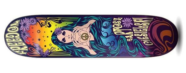 Freedom Ciesielski Love & Peace Skateboard Deck
